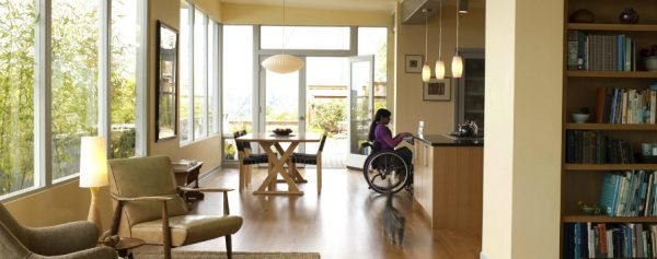 Accessible living design does not have to be clinical, lacking style, or even obvious!